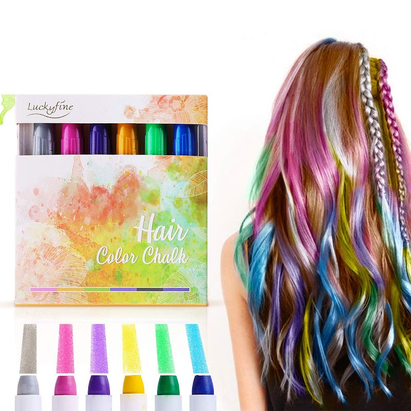 50.04% OFF Hair Chalk Luckyfine 6 Color Temporary Hair Color