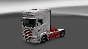 Vendelbo Spedition Skin for Scania RJL