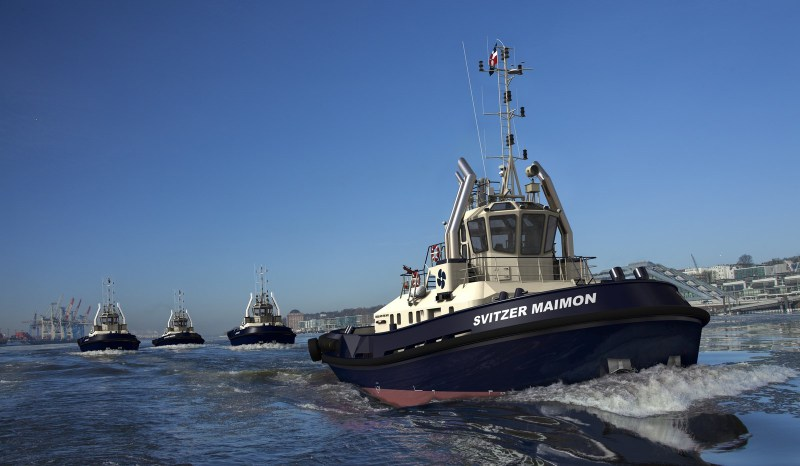 Svitzer Modernizes Fleet With Four Damen Tractor Tugs