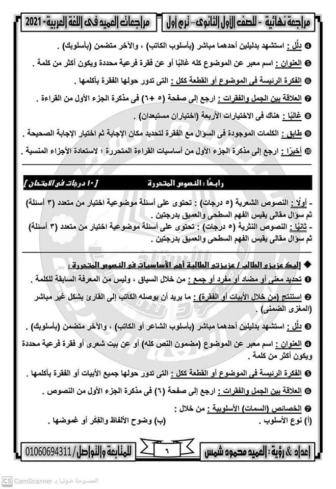 تلخيص العربي