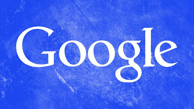 Google Blue Grunge HD Wallpaper