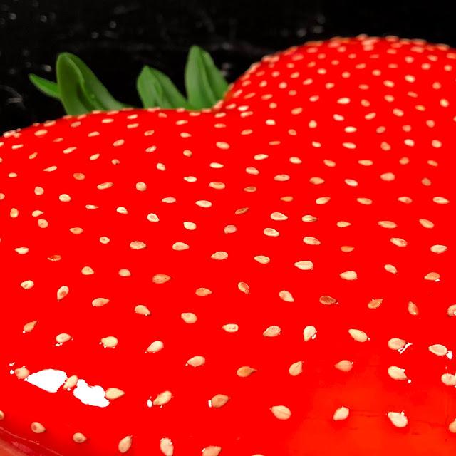 fraise reconstituée sésame pâte sucrée crème d'amande confiture crémeux bavaroise fraise