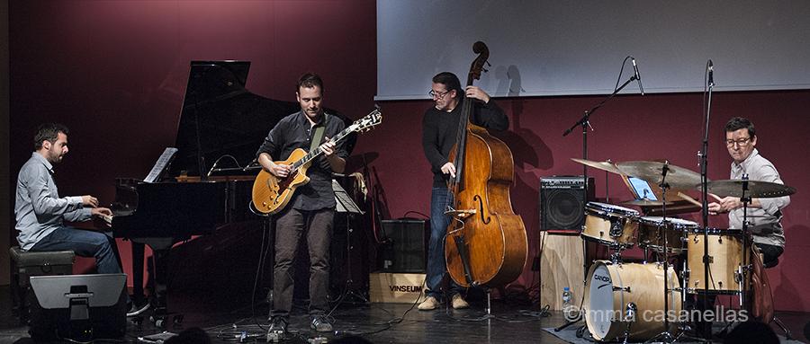 Albert Vila Quartet, Auditori Vinseum, Vilafranca del Penedès, 22/10/2016