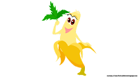 banana cartoon cliparts