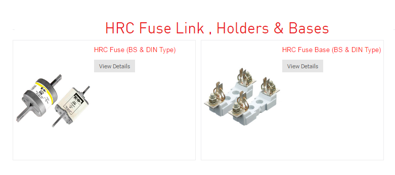 Hpl Electric Power Pvt Ltd Hrc Fuse Link Its Types And Advantages