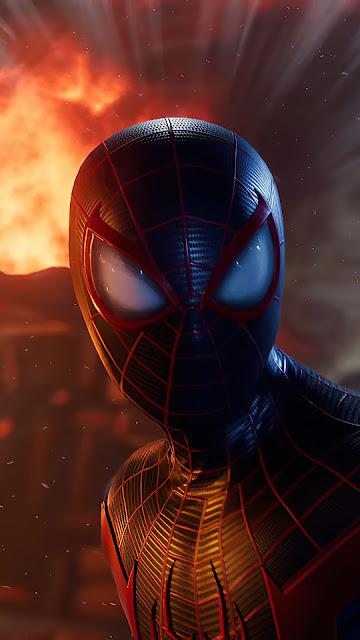 Spiderman Ps5 Full HD Wallpaper