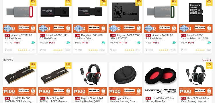Playbookstore on Shopee