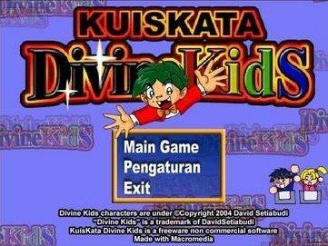 Game Kuis Kata Divinekids