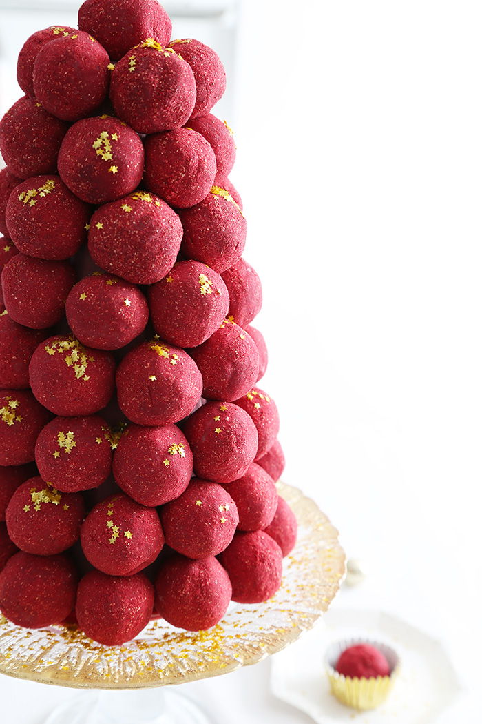 Ruby Chocolate Truffle Tower