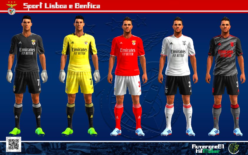 Kits Benfica 2021-2022 For PES 2013