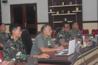 Kolonel Inf Taufiq Hanafi Pantau Kesiapan Pengamanan Tahun Baru 2020