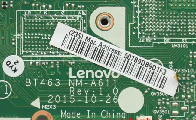 NM-A611 Rev 1.0 Lenovo Thinkpad T460P BT463 Bios