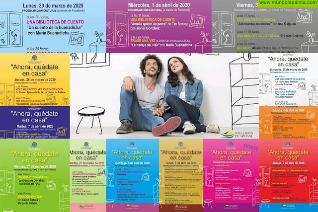 El Ayuntamiento de Los Llanos de Aridane apoya a medio centenar de artistas locales a través de su oferta cultural