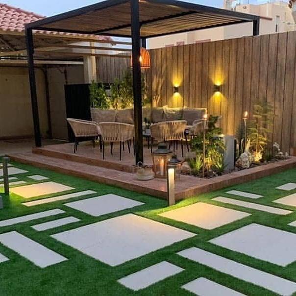 تصميم حدائق بالمنامة - البحرين
