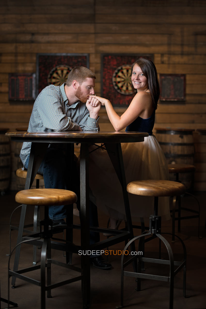 Dexter Beer Grotto Engagement Session - Sudeep Studio.com
