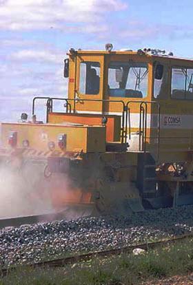 Obras en las vías de línea C-5 de Cercanías entre las estaciones de Atocha y Doce de Octubre