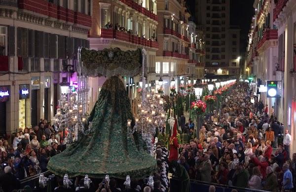 La Banda de la Soledad de Cantillana dona a obra social la cuantía del contrato de la Hermandad de los Estudiantes de Málaga