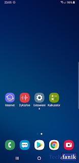 Samsung Galaxy S9+ Android 9 Pie One UI Wygląd Ikon