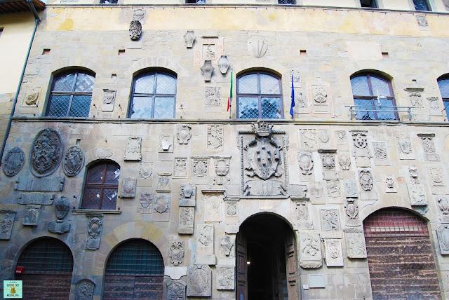 Palacio Pretorio en Arezzo, Toscana