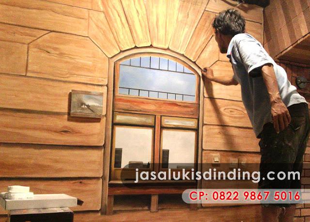 Lukisan 3D di Semarang