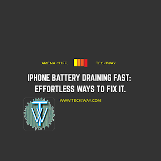 iPhone Battery Draining Fast