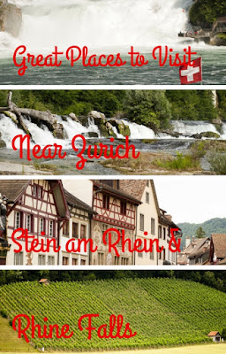 Great Places to Visit Near Zurich: Switzerland's Stein am Rhein and Rhine Falls by Car