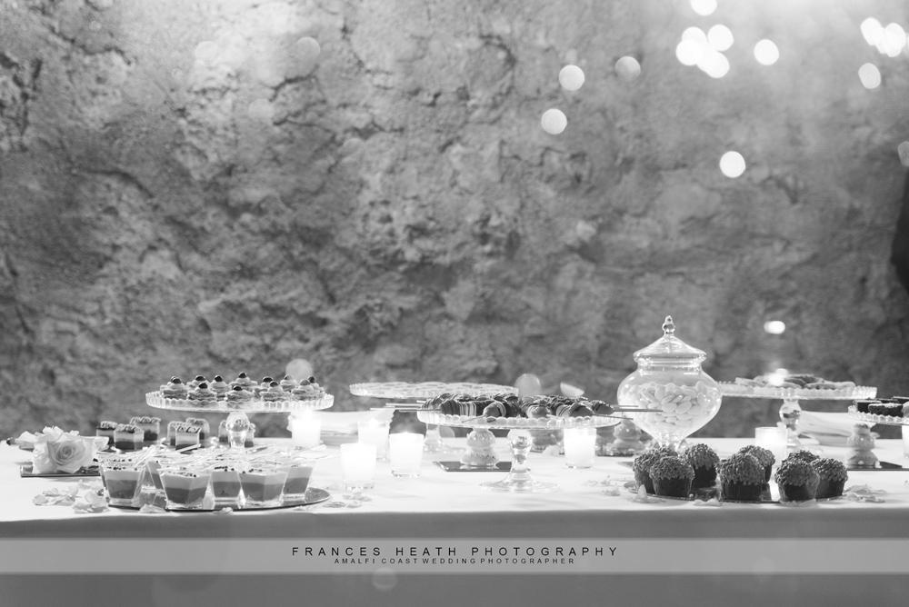 Dessert buffet hotel Belmond Caruso