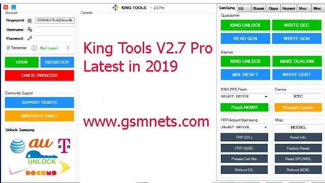Download King Tools V2.7 Pro Latest In 2019