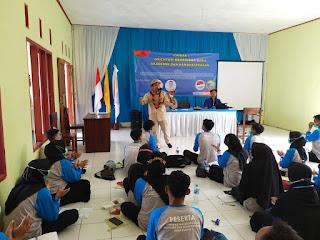 STISIP SAINS SAMUDRA INDONESIA, Gandeng REBBANA Berikan materi kerelawan peserta OSPEK