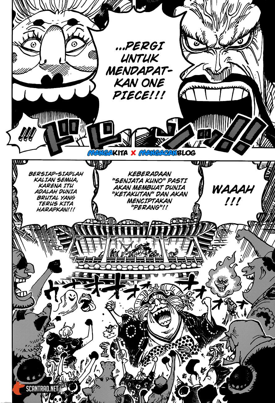 Komik One Piece 985 : komik, piece, Update!, Manga, Piece, Chapter, Masrana.com