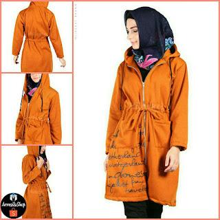 Hijacket Urbanashion MARIGOLD JAKET PREMIUM QUALITY Jaket Hijab