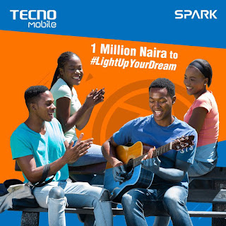 How To Win 1 Million Naira in the Tecno #LightUpYourDream Online Activity