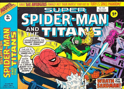 Super Spider-Man and the Titans #208, Sandman