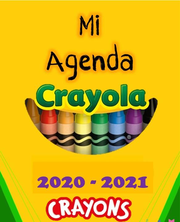 Agenda Escolar Crayola 20-21