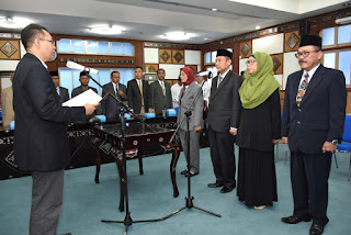 <b>Gubernur NTB  Lantik Pejabat Tinggi Pratama</b>