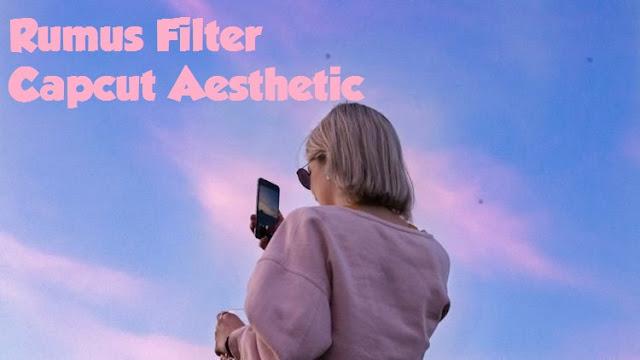 Rumus Filter Capcut Aesthetic Yang Lagi Hits