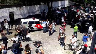 School shooting leaves at least 8 dead in Brazil
