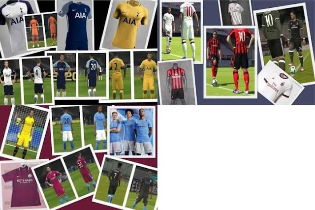 Kits 2017-18 PES 2017