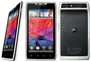 Motorola RAZR na cor branca