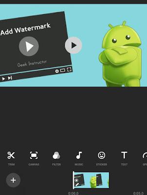 Click Sticker option