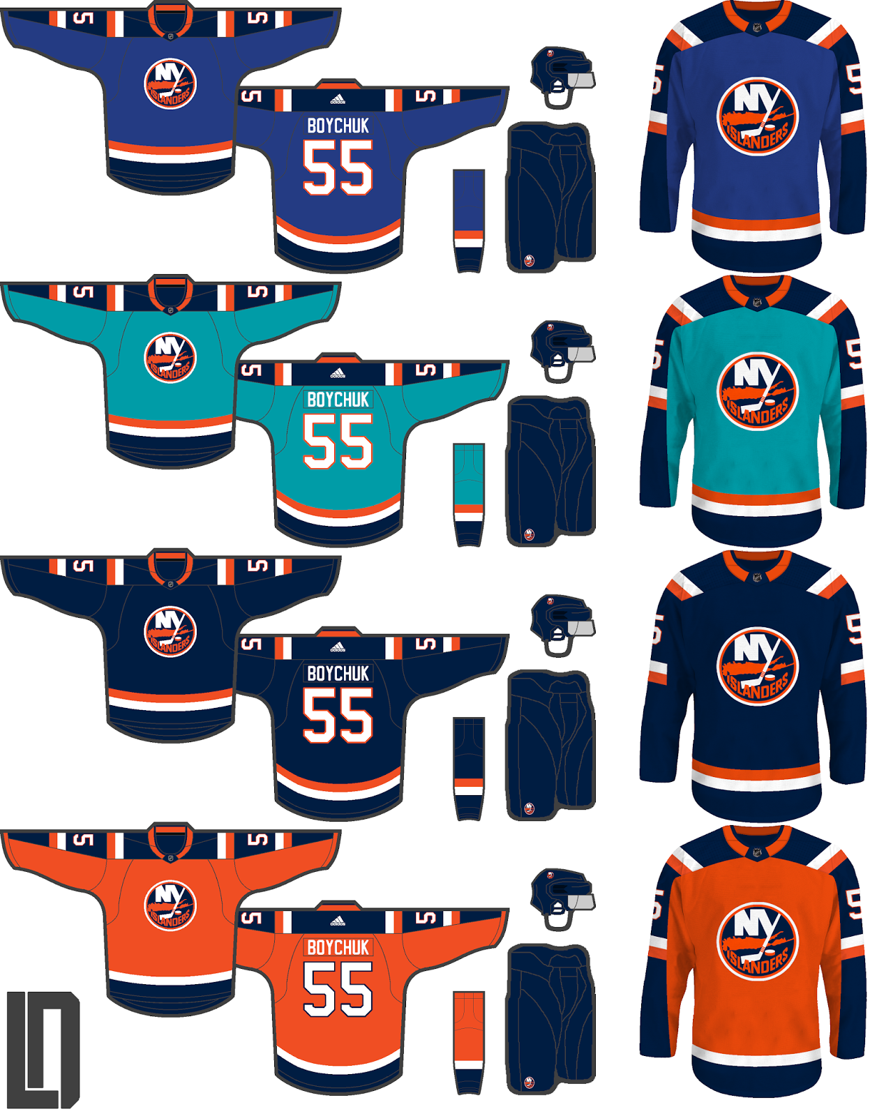 dee3ff0e4 NHL Adidas Alternates (Series completed!) - Page 4 - Concepts ...