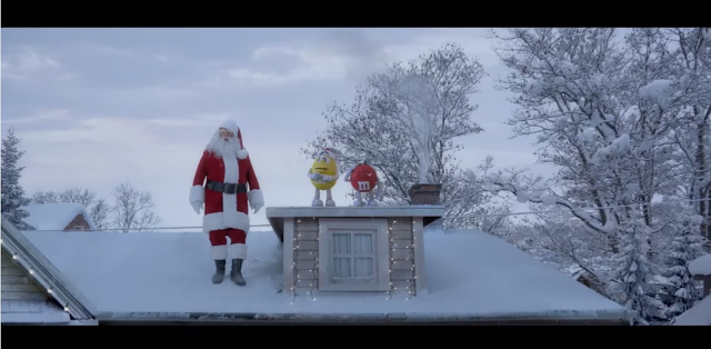 Faint 2: A Very Yellow Sequel  Follows Up on M&M s Iconic  Faint  Holiday Ad From 1996
