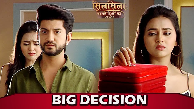 Pari supports Mishti's decision to leave Veer in Silsila Badalte Rishton Ka