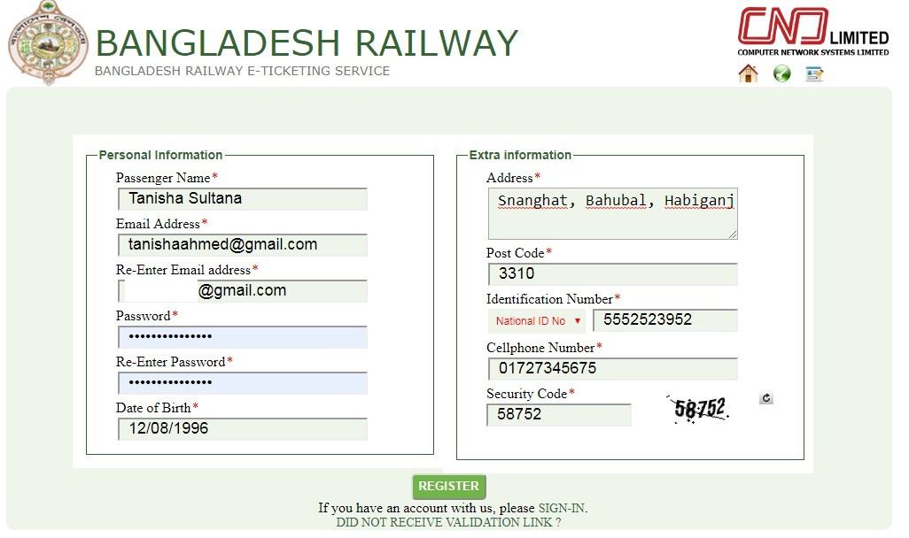 Bangladesh Railway Ticket Booking Online