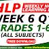 WEEK 6 IDEA-BASED WHLP GRADES 1-6