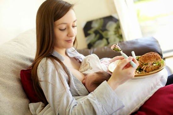Food support breastfeeding mothers