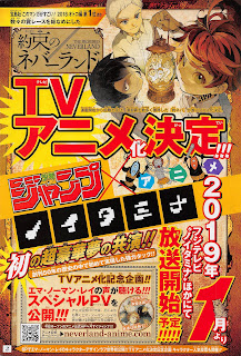 "Manga: El anime de ""The Promised Neverland"" se estrenará en enero"