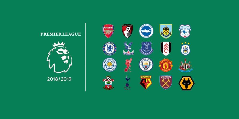 Klasemen Premier League Musim 2018/19