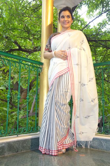 Khadi Cotton Mul Saree