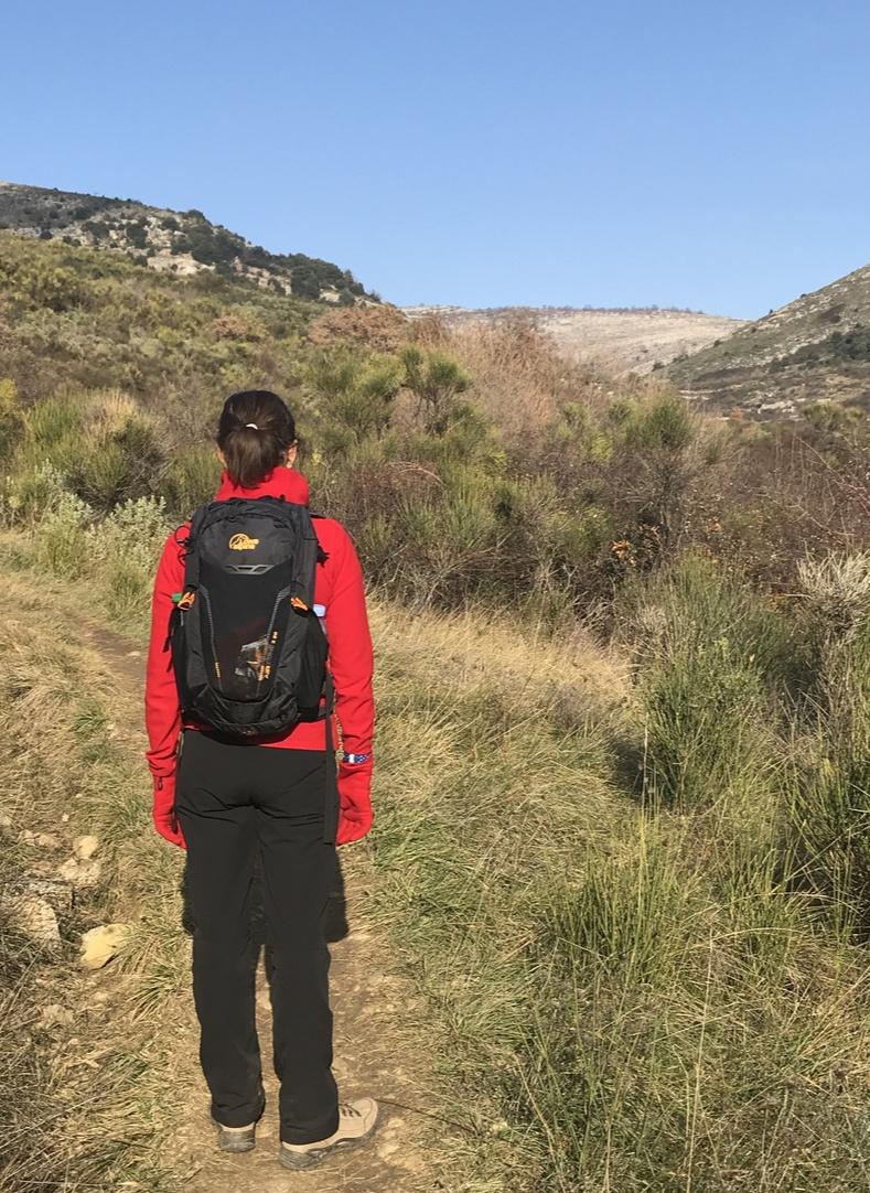 Trail after Chapel St-Raphael